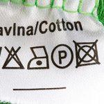 معنی اتیکت شستشوی روی لباس